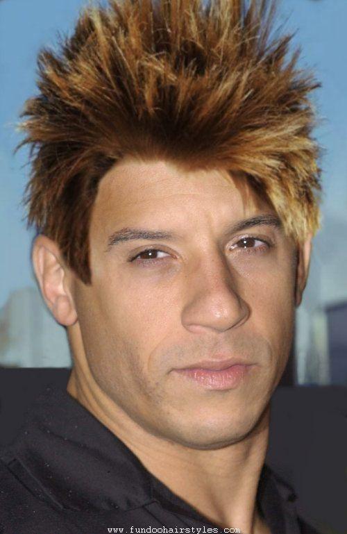 Latest Punk Haircut Pics For Mens