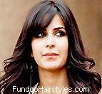 Hairstyle Ki Video : famous hairstyles katrina kaif hairstyle in mere brother ki dulhan