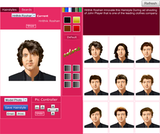 FREE Hairstyle Software to get Hairstyle Ideas for Virtual haircut